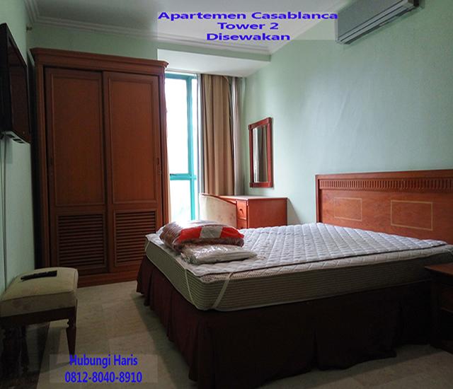 apartemen casablanca kamar tidur