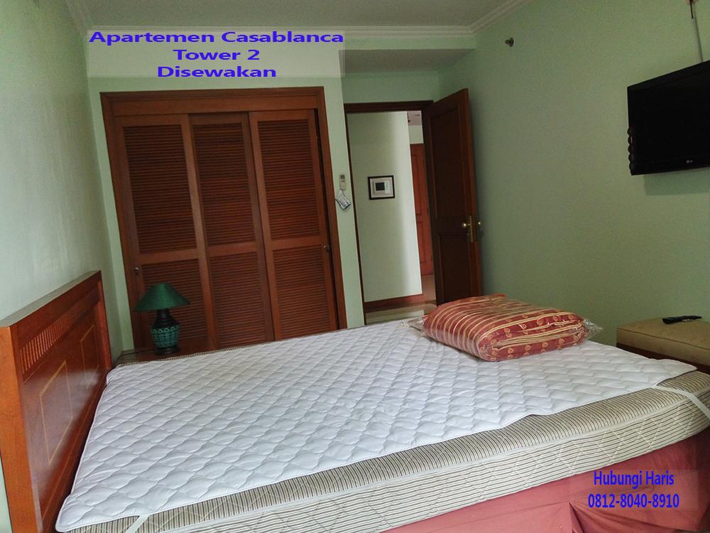 kamar tidur apartemen casablanca