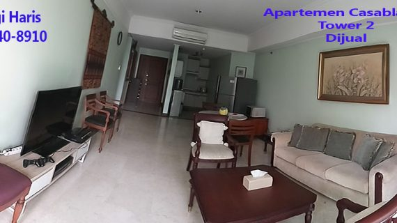 apartemen casablanca dijual