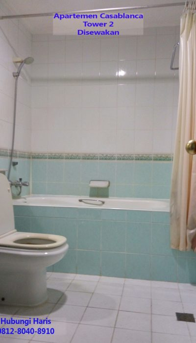 kamar mandi apartemen casablanca